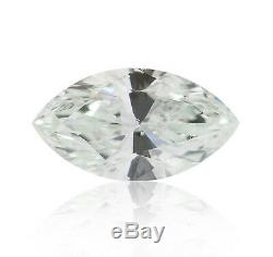 0.08 Carat Fancy Light Green Blue Loose Diamond Natural Color Certified Marquise