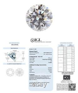 0.20 Carat Fancy Light Blue Loose Diamond Natural Color Round Shape Certified