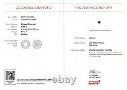 0.44ct! BLUE AUSTRALIAN ARGYLE DIAMOND 100% NATURAL UNTREATED +CERT INCLUDED
