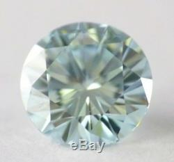 0.55 carat Fancy Intense Blue Loose Natural Diamond Round Cut RARE IGI Certified