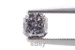 0.61 Fancy Dark Blue Gray GIA Diamond VS2 Natural Fancy Color Loose Certified