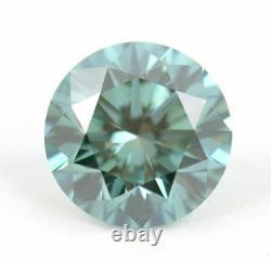 1.01 carat Fancy Vivid Blue VS1 Loose Natural Diamond Round Brilliant Certified