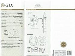 1.02 CT Loose Natural Diamond Fancy Intense Blue Cushion Cut GIA Certified