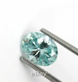 1.04 CT Loose Natural Diamond Fancy Vivid Blue VS1 Oval shape IGL Certified