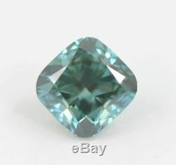 1.05 carat Loose Natural Diamond Fancy vivid Blue VS1 Cushion Shape Certified
