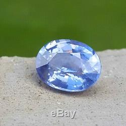 1.32 Ct CERTIFIED Natural BLUE SAPPHIRE Unheated Untreated Loose Gemstone