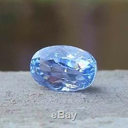 1.82 Ct CERTIFIED Natural BLUE SAPPHIRE Unheated Untreated Loose Gemstone