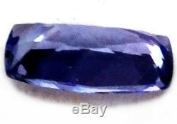 10.3 x 5.5 mm NATURAL BLUE TANZANITE Certified LARGE CLEAN LOOSE GEMSTONES