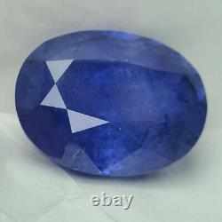 108.25 Cts, Lotus Certified Cornflower Unheated Ceylon Blue Sapphire (rare)