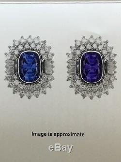 18k Gold 7.98ct Gia Certified Unheated No Heat CC Blue Sapphire Diamond Ring