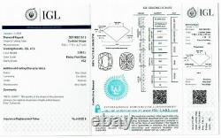 2.08 carat Fancy vivid Blue Loose Natural Diamond Cushion Cut VS2 IGI Certified