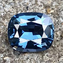 2.19 Cts Ultra Museum Rarest 100% Clean Natural Cobalt Blue Spinel Gic Certified