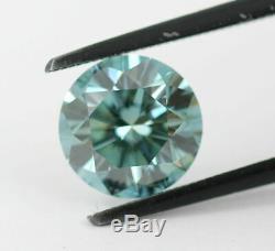 2.55 carat Loose Natural Diamond Fancy Vivid Blue VS1 Round Brilliant Certified