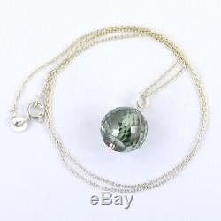 20.10 ct! Blue Diamond Chain Necklace, Certified- Great Idea For Gift