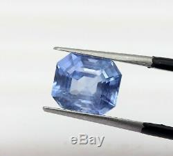 3.64 Ct Fantastic Great 100% Natural Blue Sapphire Ceylone Igi Certified