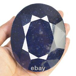 3109 Cts Certified Natural Blue Sapphire Huge Museum Size Collector's Gemstone