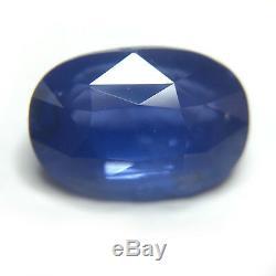 4.06 CTS Natural Cornflower Blue sapphireLoose GemstoneCertifiedSri Lanka
