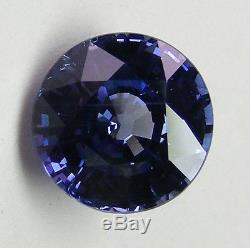 4.07ct! BLUE SAPPHIRE GIA CERTIFIED UNTREATED 100% NATURAL -EXPERTLY FACETED