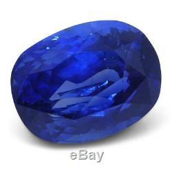 4.11 ct GIA Certified Sri Lankan/Ceylonese Unheated Sapphire
