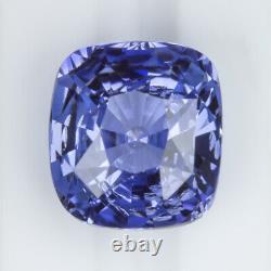 4 Carat Gia Certified Ceylon Sapphire Cushion Shape Cut Cornflower Blue Loose