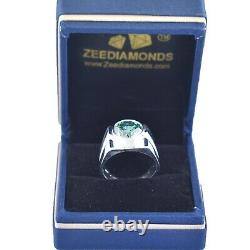 5.00 Ct Certified Blue Diamond Solitaire Engagement Ring, Great Design & Shine