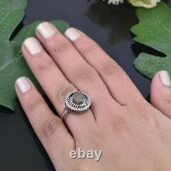 5.50 Ct Certified Elegant Deep Blue Diamond Ring with Accents! Excellent Luster