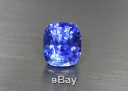 5.613 Cts Top Lustrous 100% Natural Certified Unheated Blue Sapphire Srilanka