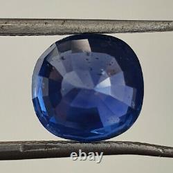 6.10 Cts GRS Certified Unheated Cornflower Blue Sapphire