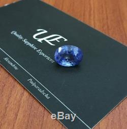 7.26 Carats GIA Certified Natural Unheated Blue sapphire New Srilanka