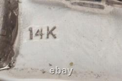 $7000 2ct Natural NO HEAT Blue Sapphire Diamond 14k White Gold Ring CERTIFIED