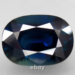 9.16Ct. Natural Blue Sapphire Madagascar Oval Facet Unheated Certified BIG