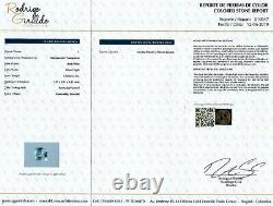 Certified 1.62 CTS Euclase (Blue emerald) Colombia