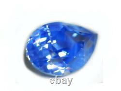 Certified Blue Sapphire Unheated 0.91 Carats Ceylon Natural Loose Gemstone 18499