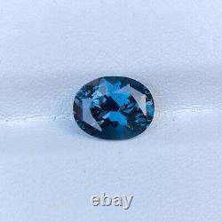 Certified Natural Blue Cobalt Spinel 3.50 Cts Oval Cut VVS Loose Gemstone