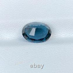 Certified Natural Cobalt Blue Spinel 3.28 Cts Oval Cut Sri Lanka Loose Gemstone