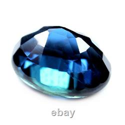 Certified Natural Unheated Blue Sapphire 1.19ct VS Untreated Madagascar Oval