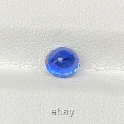 Certified Natural Unheated Cornflower Blue Sapphire 1.17 Cts Oval Loose Gemstone
