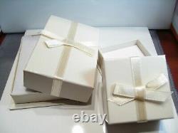 Cornflower Blue Sapphire Stud 14K WG New Certified 1 TCW 4.5mm Earrings Gift Box