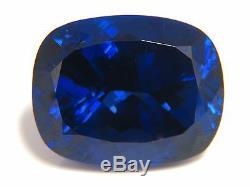 GIA Certified 58.21ct Natural Blue Cushion Cut Tanzanite Magnificent+