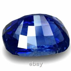 GIA Certified KASHMIR Blue Sapphire 4.00 Cts Natural Untreated Cushion