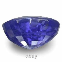 GIA Certified KASHMIR Blue Sapphire 4.03 Cts Natural Untreated Oval
