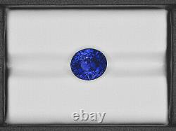 GIA Certified KASHMIR Blue Sapphire 5.76 Cts Natural Untreated Oval