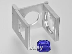 GIA Certified MADAGASCAR Color Change Sapphire 5.21 Cts Natural Untreated