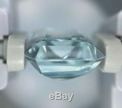 GIA Certified NATURAL NO HEAT Light Blue Aquamarine Beryl Octagonal Cut 11.01 CT