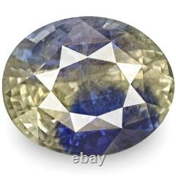 GIA Certified SRI LANKA Blue Sapphire 16.86 Cts Natural Untreated Oval