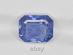 GIA Certified SRI LANKA Blue Sapphire 3.60 Cts Natural Untreated Medium Blue