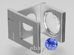 GIA Certified SRI LANKA Blue Sapphire 3.92 Cts Natural Untreated Round