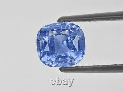 GIA Certified SRI LANKA Blue Sapphire 4.07 Cts Natural Untreated Lustrous Blue