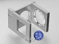 GIA Certified SRI LANKA Blue Sapphire 4.13 Cts Natural Untreated Round