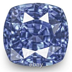 GIA Certified SRI LANKA Blue Sapphire 4.25 Cts Natural Untreated Cushion